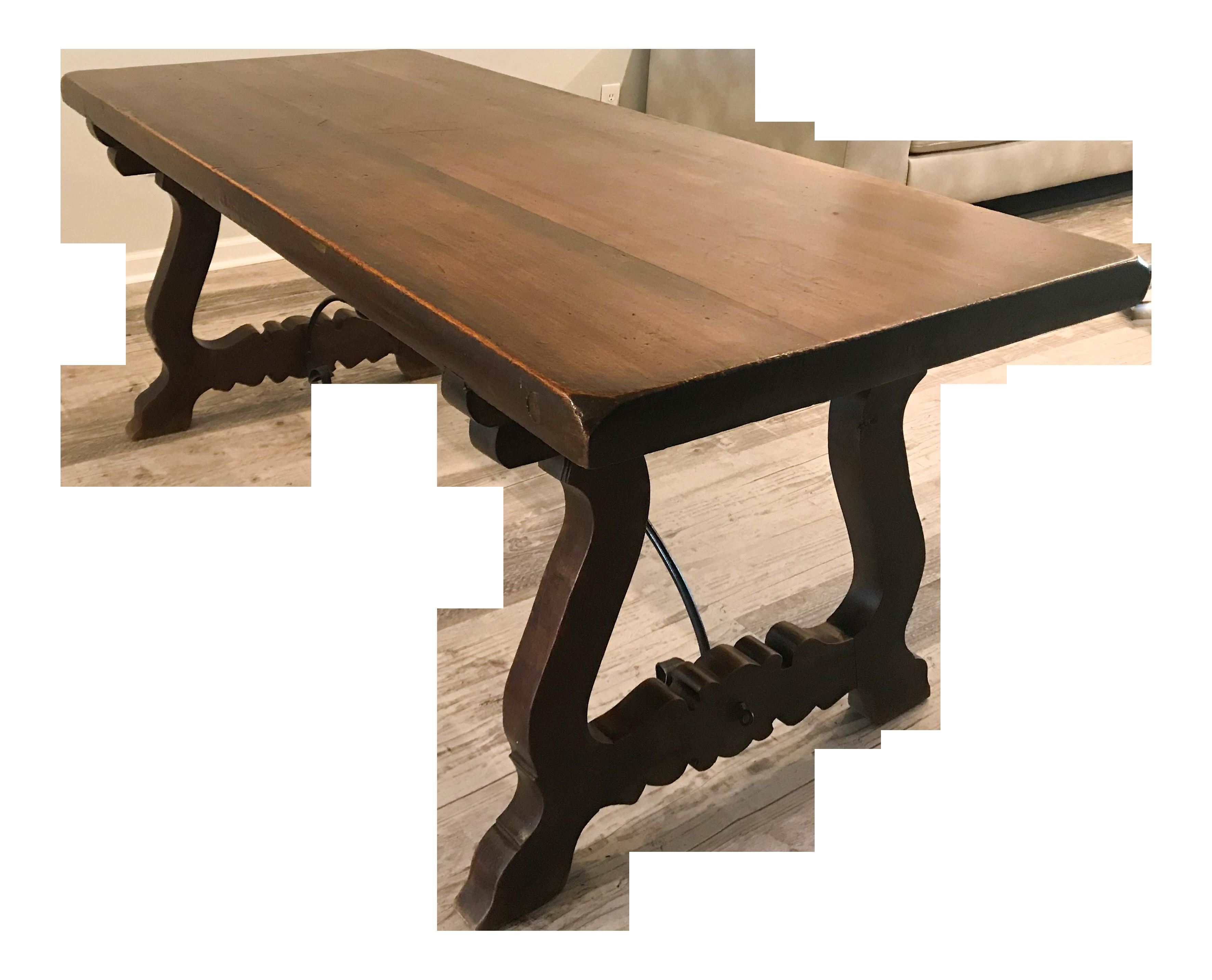 Vintage Spanish Farm Trestle Table in 2020 | Trestle table ...