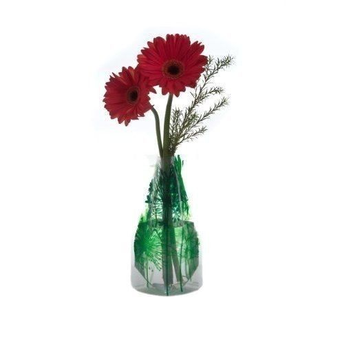 Durable Plastic Colorful Flower Vase Foldable Collapsible and Expandable Green #Modgy  sc 1 st  Pinterest & Durable Plastic Colorful Flower Vase Foldable Collapsible and ...