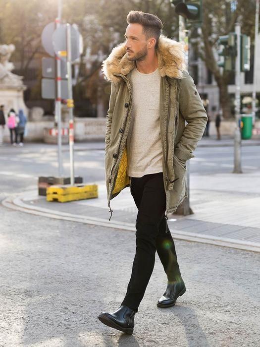 Pin Von Corahua Roly Auf Cosas Para Comprar Winter Outfits Men