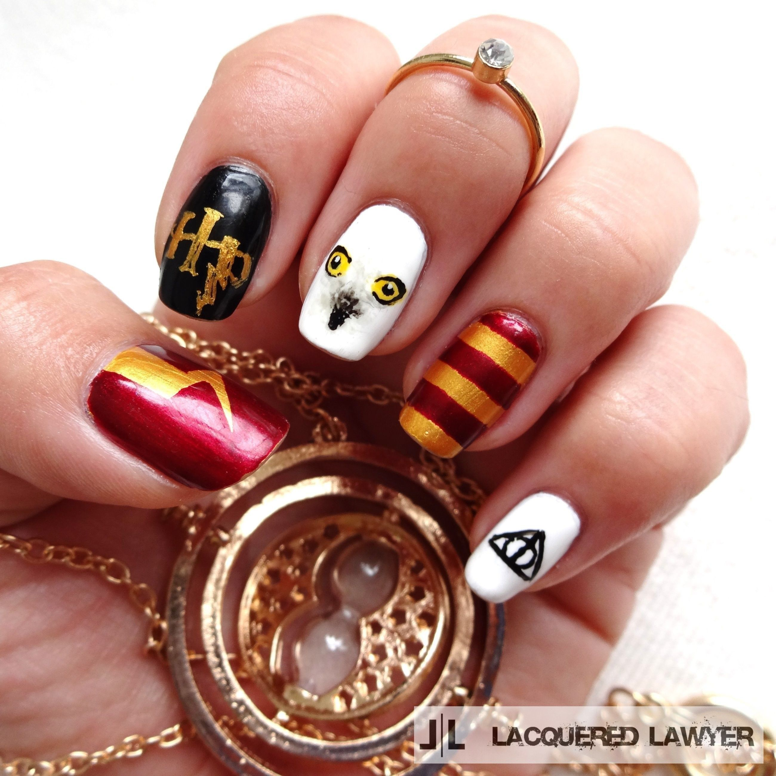 Harry Potter | Nageldesign