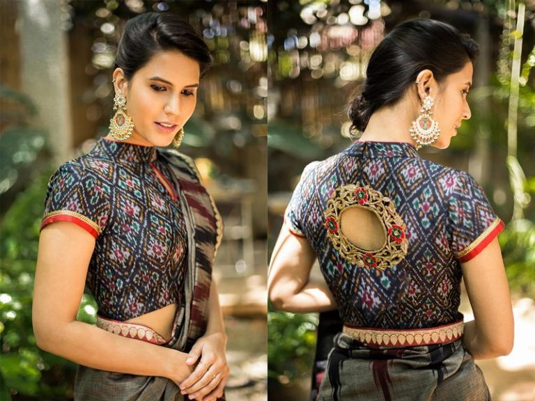 eaff8de137051 Full neck blouse designs also chic how to style it blouses rh pinterest