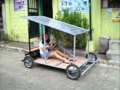 Solar Powered Kart Made In The Philippines News Tube