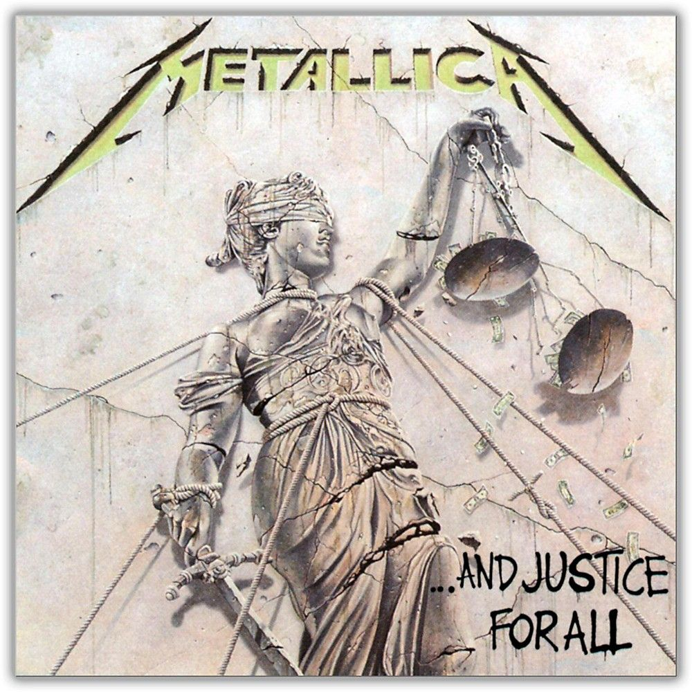 WEA Metallica And Justice for All Vinyl LP