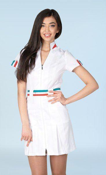 0716f626ca80e медицинские халаты модный доктор - Поиск в Google | униформа | Халат ...