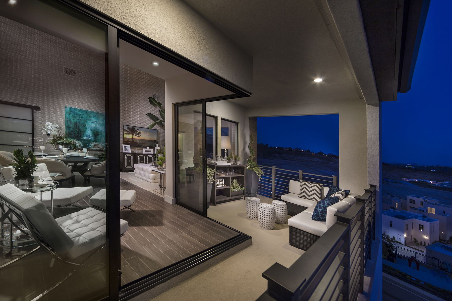 Plan 2 penthouse loft style living lucent shea homes san diego mission valley civita for Shea homes design center san diego
