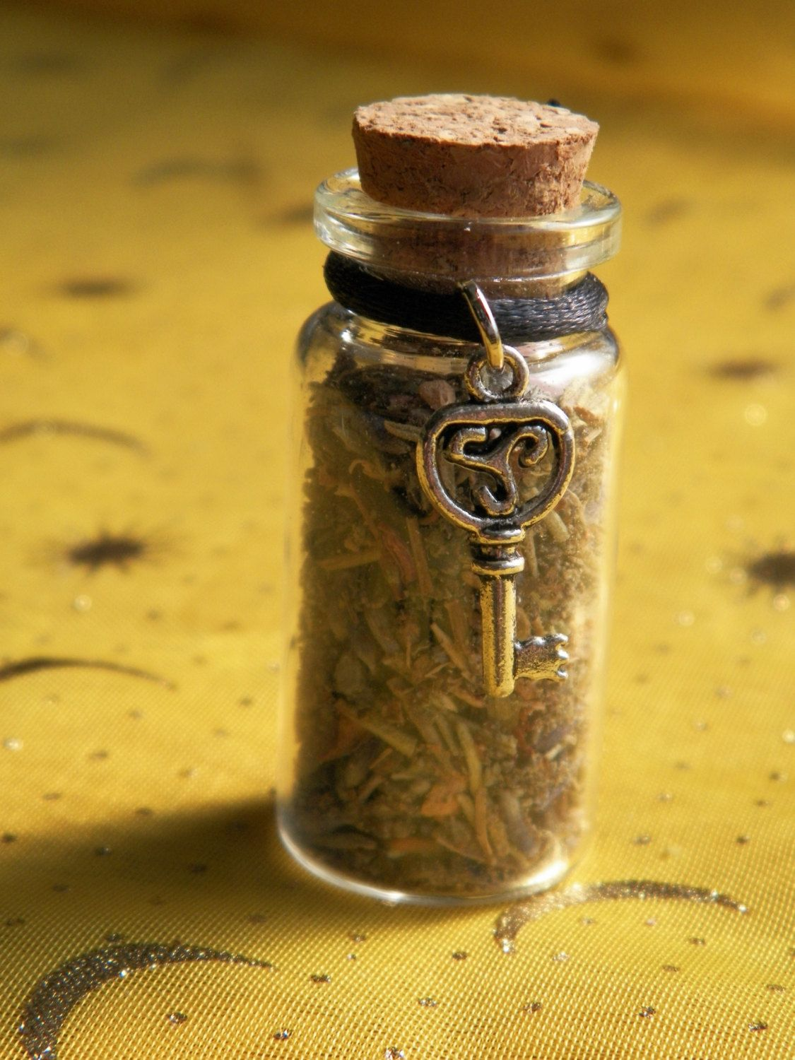 Release Witch Bottle Handmade Herbal Blend Ritual Supply