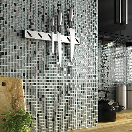 Add Sparkle To Your Kitchen Walls With Wickes Glitter Black