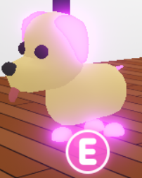 Mega Neon Dog In 2020 Roblox Pictures Pet Adoption Roblox