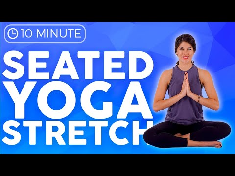 2 10 min seated morning yoga stretch for beginners