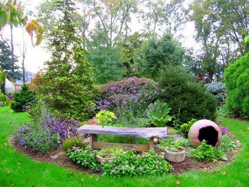 Perennial garden design ideas decor with layout samples for Perennial garden design