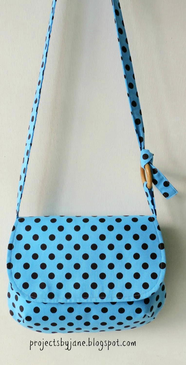 sling bag pattern...9 1/4\