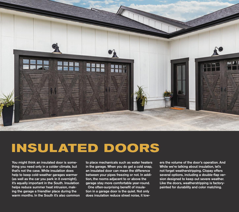 Insulated Garage Doors In 2020 Garage Doors Garage Garage Door Insulation