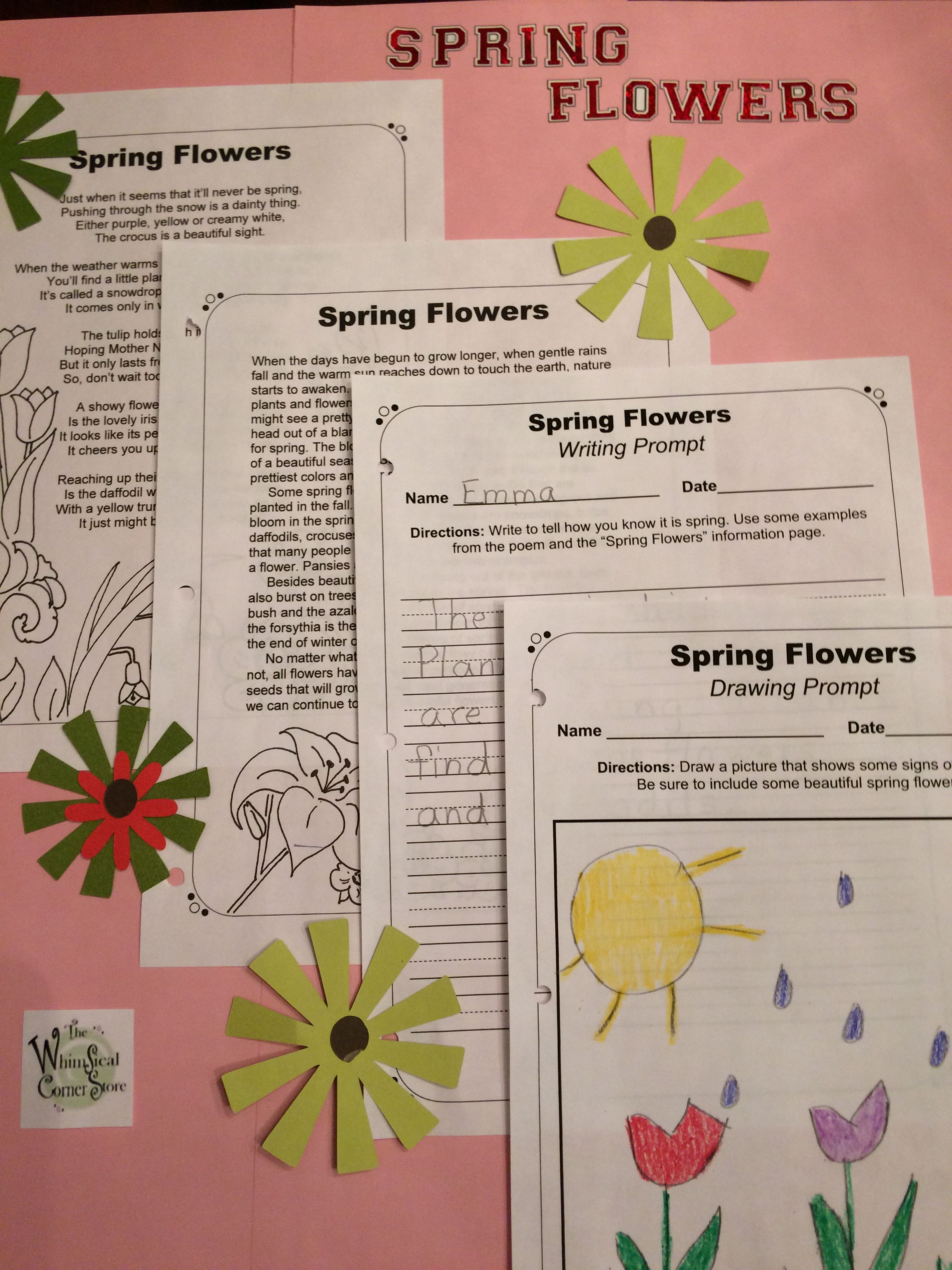 Spring And Summer Original Poems Informational Texts And