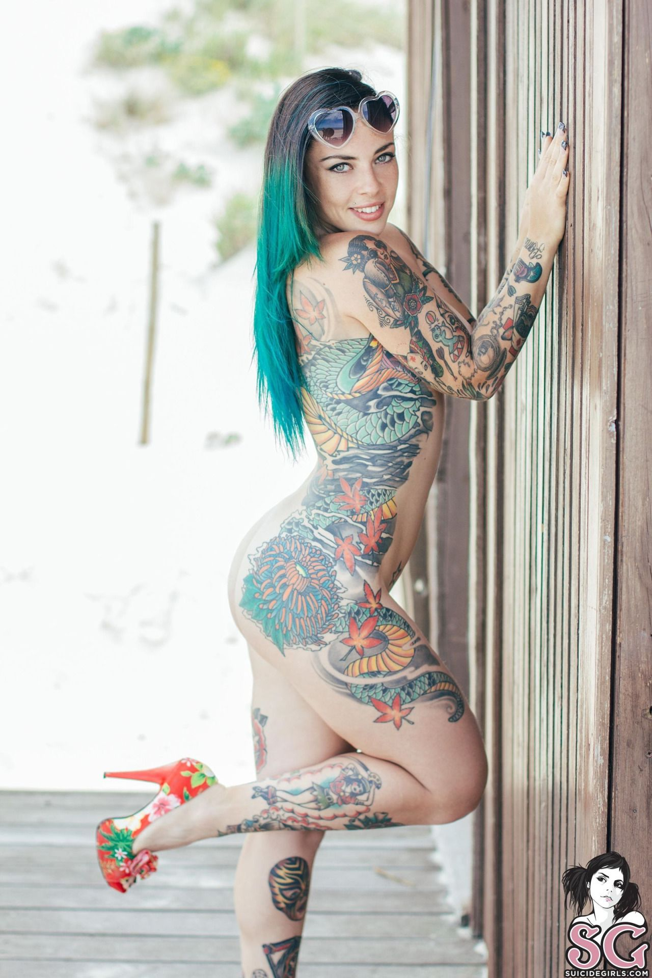 Tatoo Nude Woman 91