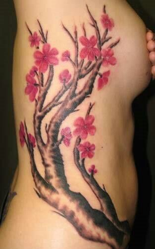 Love It All Flower Tattoos Cherry Blossom Tattoo Blossom Tattoo