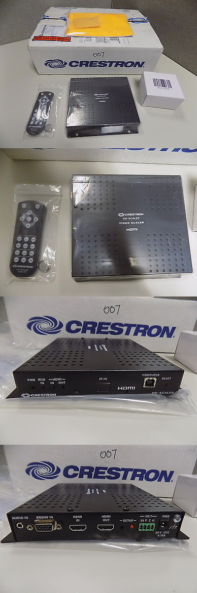 Other Home Automation: New Crestron Hd-Scaler BUY IT NOW ONLY: $140.0
