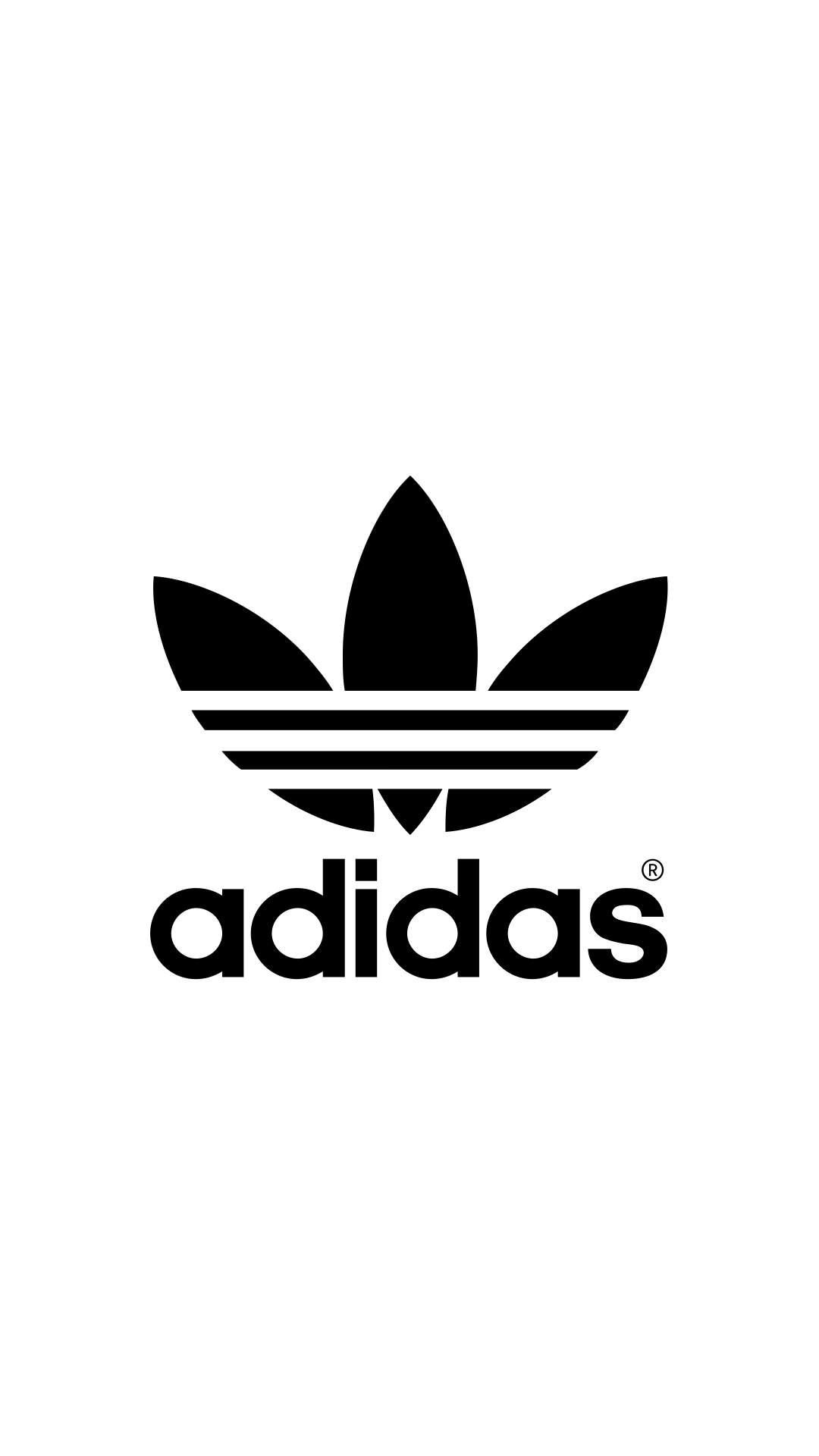 adidas Logo iPhone Wallpaper | Summer outfits | Pinterest ...