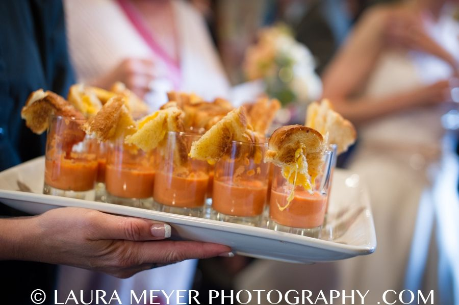 Grilled Cheese Shooters by Popolanos Catering
