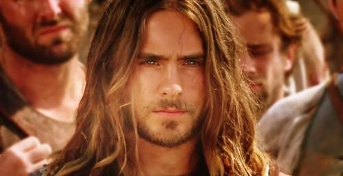 Jared Leto as awesome Hephaistion