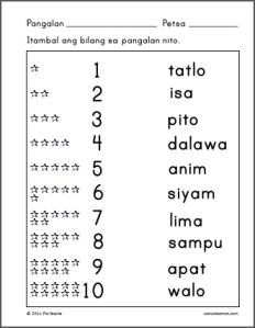 Image result for alpabetong filipino worksheets for kindergarten ...