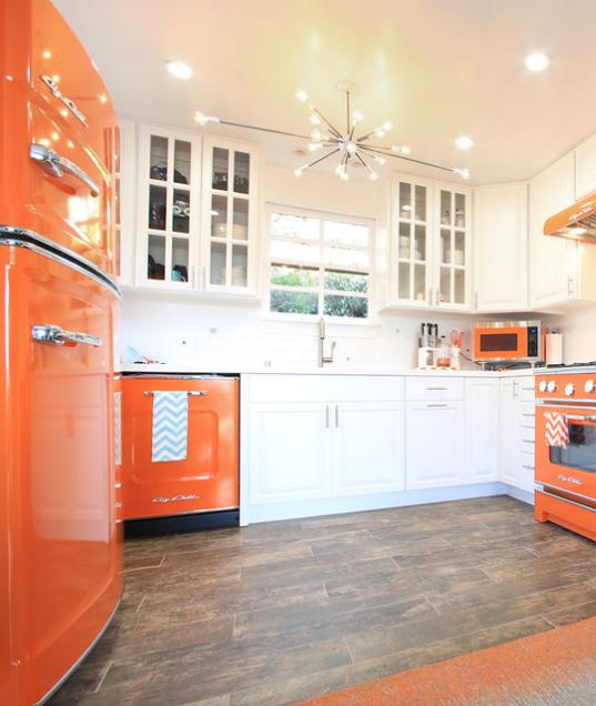 Porsche Design Kitchen Appliances: Retro And Modern Refrigerators