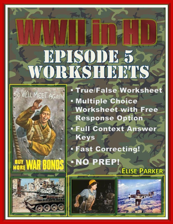 Wwii In Hd Worksheets Episode 5 Day Of Days This Or That