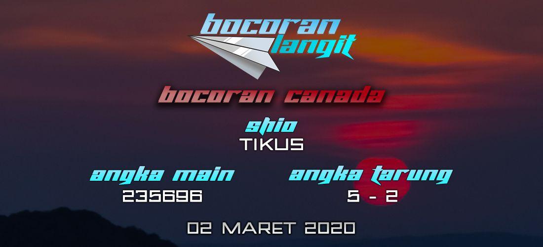 Bocoran Togel Canada 2 Maret 2020 Hari Senin Dari Langit di 2020   Canada. Langit. Indonesia