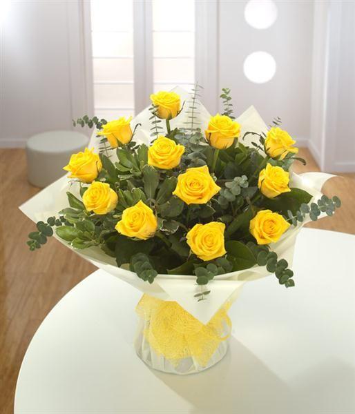 A Dozen Yellow Roses Yellow Roses Yellow Rose Bouquet Flower