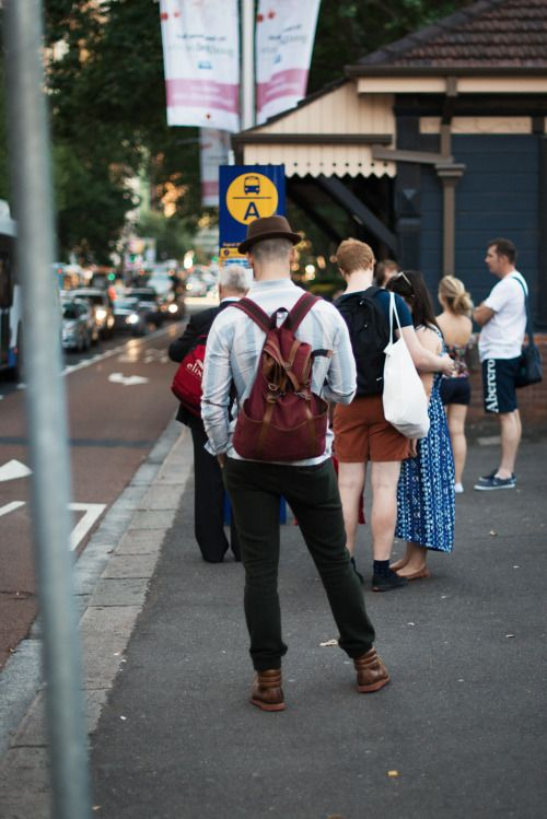 http://chicerman.com  meninthistown:  Kettle-curl brim.  Similar look:Brixton Gain Homburg Khaki/ Brown Medium.  #streetstyleformen