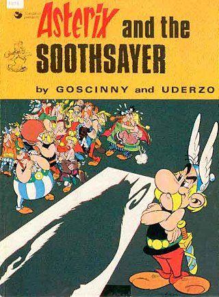 Asterix And The Soothsayer 19 Book Cover Art Comics Pdf Comics