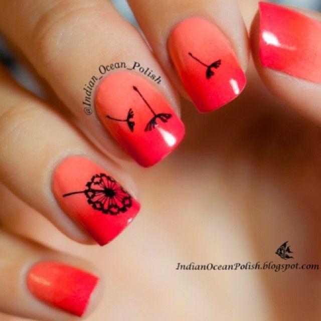 NailDeesignz: Ombre Tropical Sunset Nail Art | Nails