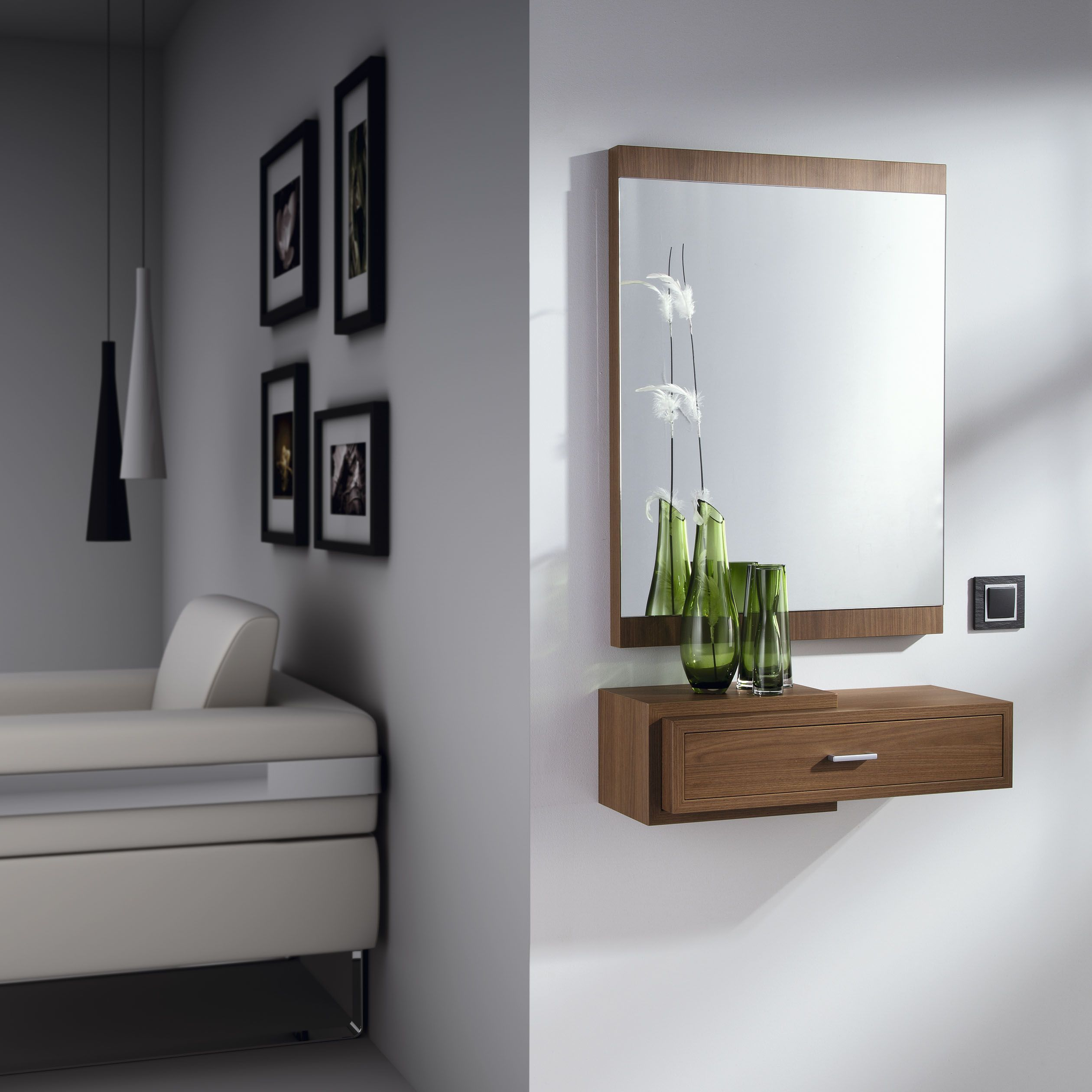 Recibidores Modernos Cheap Recibidores Modernos With Recibidores  # Muebles Gimenez Recibidores