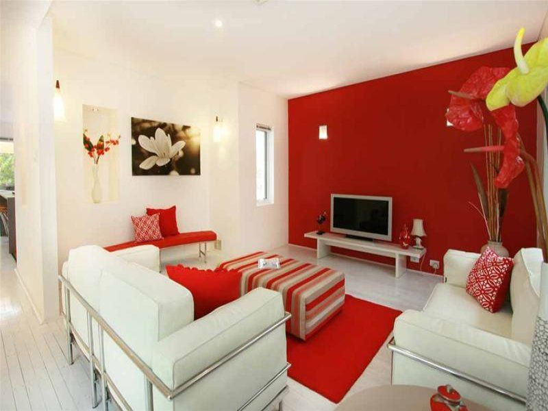 Pin On Red Accent Walls