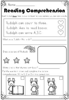 1st Christmas Reading Comprehensions For Eyfs Ks1 By Polly Puddleduck Teachers Pay Te Reading Comprehension Christmas Reading Comprehension Christmas Reading