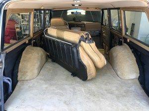 Wagoneer Restoration New Carpet Installation Four Wheel Trends Carpet Installation Jeep Wagoneer Jeep