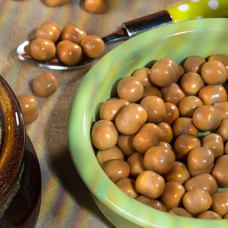 Boules caramel cacahuète - Palline caramello arachidi ...