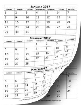 small printable calendar 2015