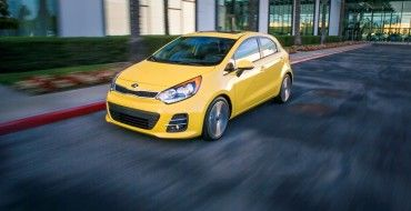 New Kia Rio Model Might Boast Gt Badge Kia Rio Kia Motors Cars