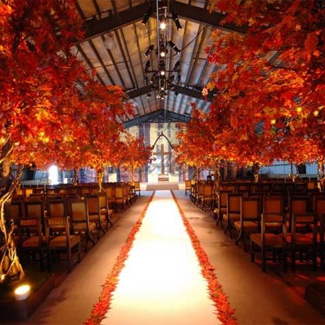 boda otoñal