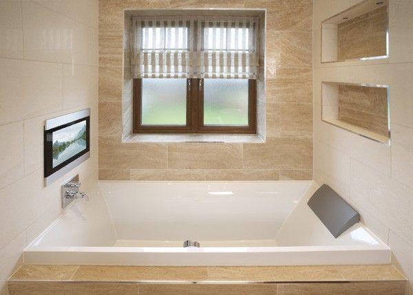 Infiniti 19 Inch Waterproof Tv Bathroom Tv Tv In Bathroom Bathroom Televisions Waterproof Tv