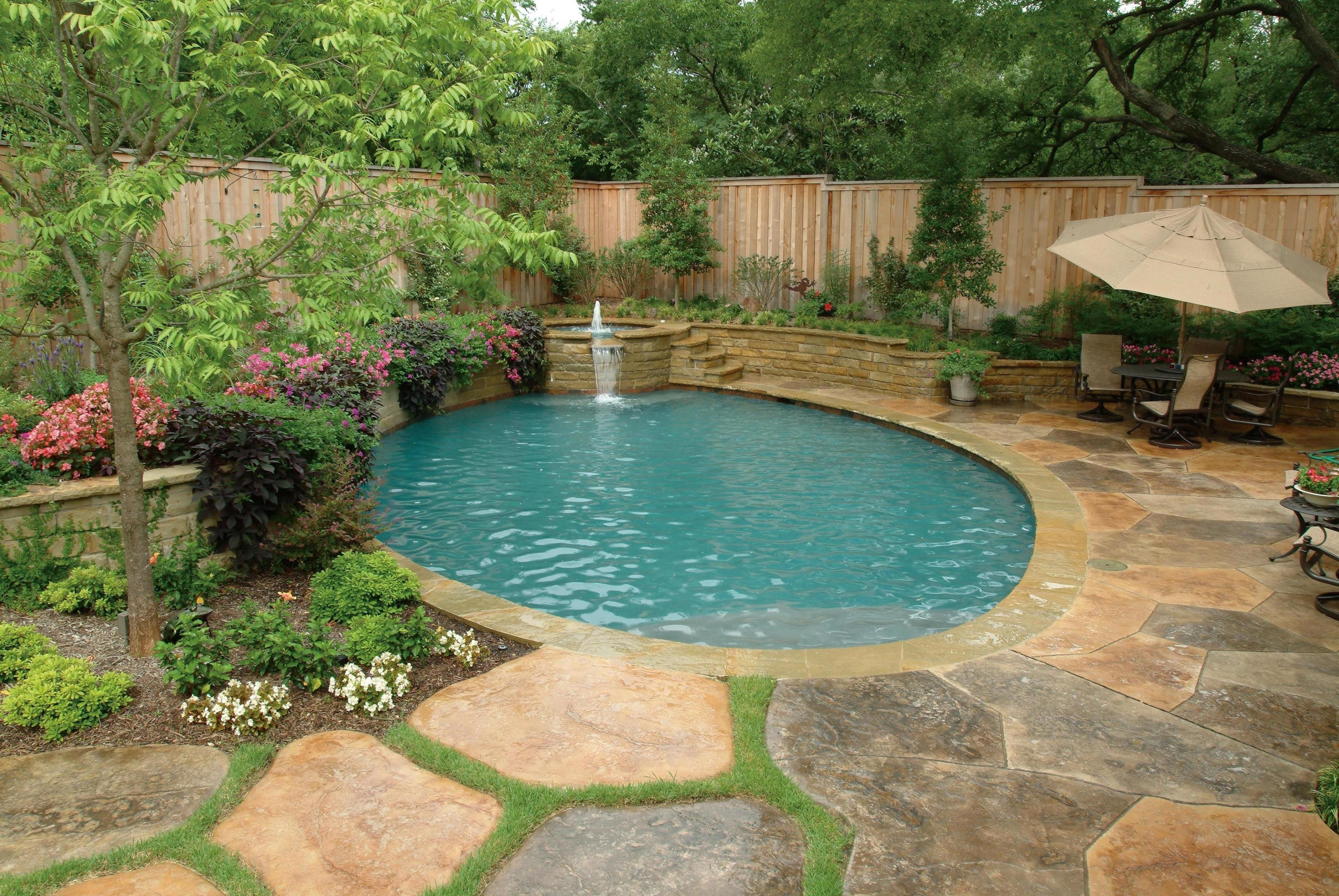 20 Best Landscaping Around Above Ground Pool 2019 37