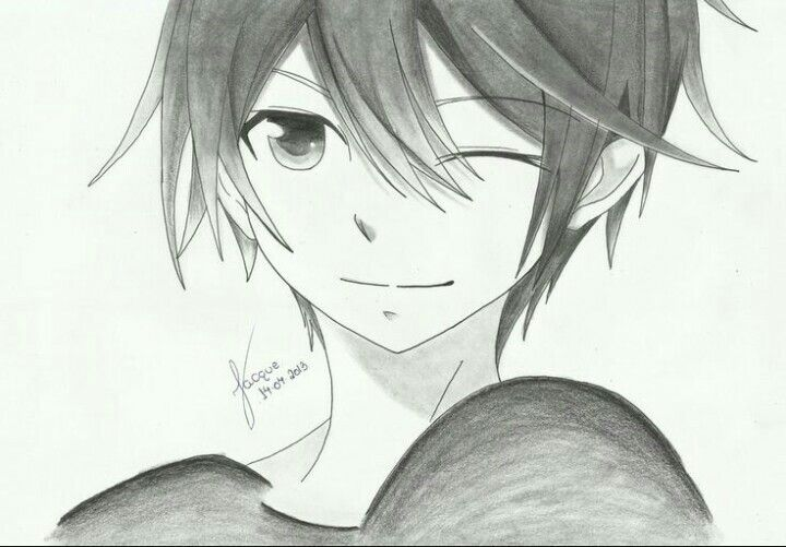 Anime Guy Drawling Anime Boy Anime Drawings Anime Drawings Boy