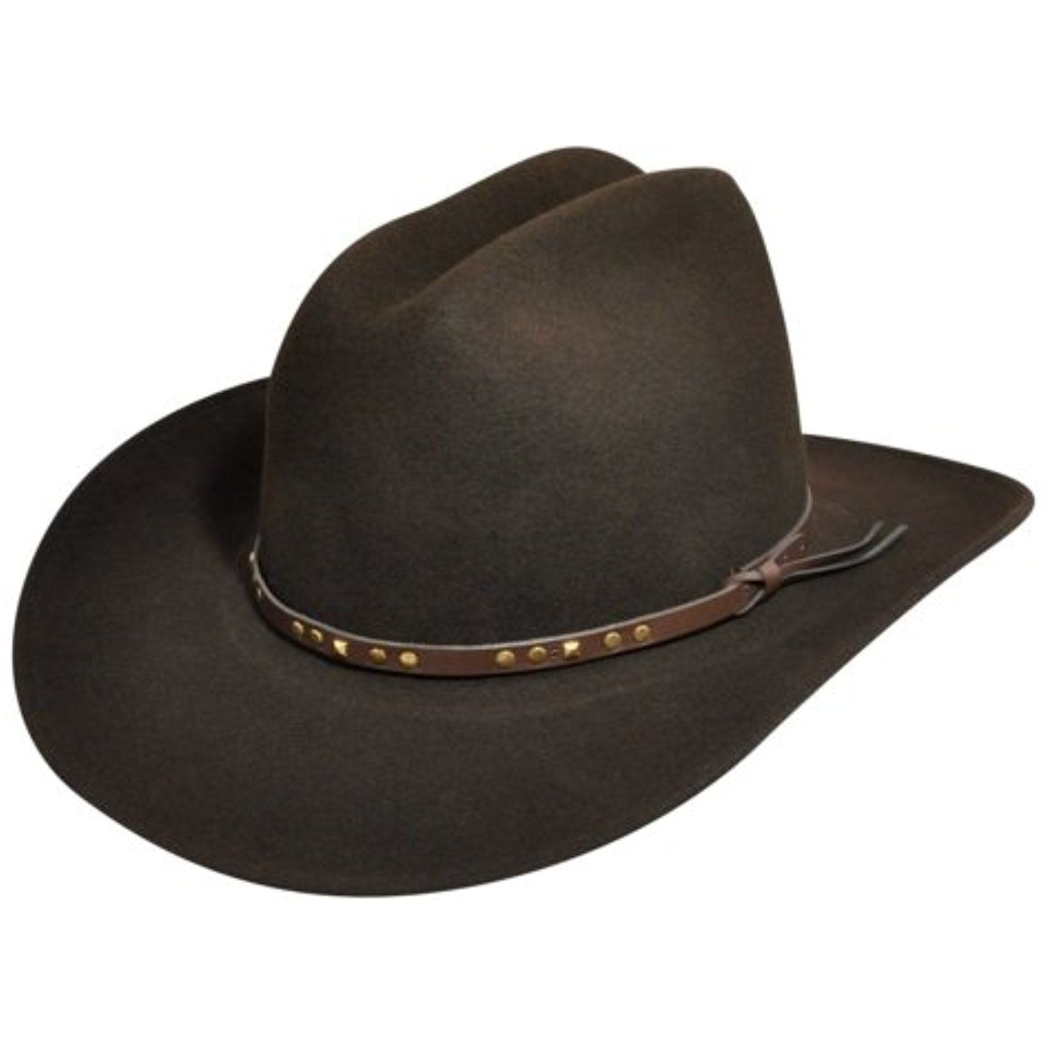 34001a9f3 Bailey Chisolm Lite Felt Cowboy Hat Black * More info could be found ...