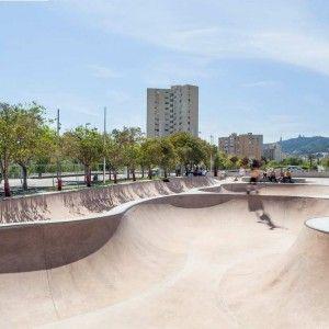 Barcelona Skateparks Nou Barris And La Mar Bella By Scob