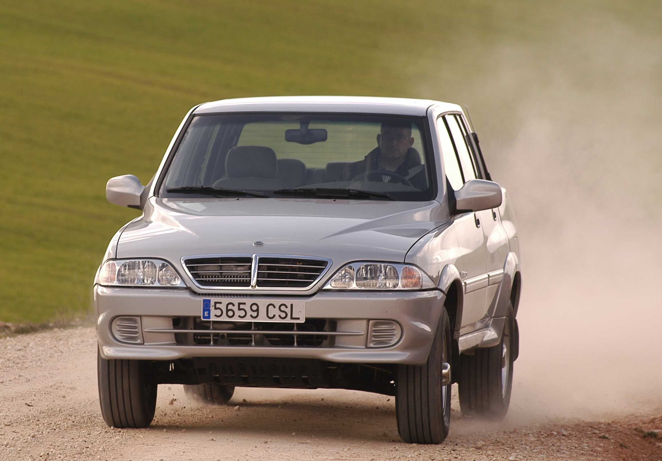 SSANGYONG Musso Pick-UP.