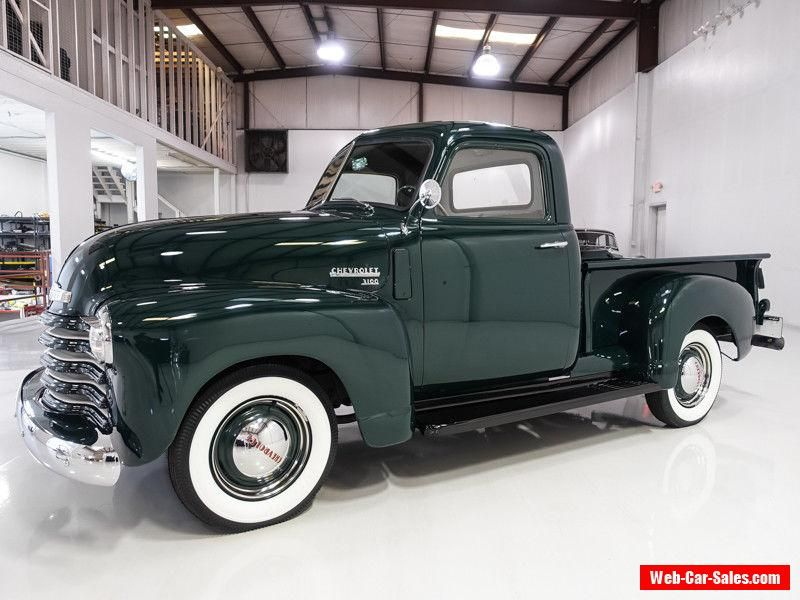 Car For Sale 1949 Chevrolet Other Pickups 3100 1 2 Ton Pickup