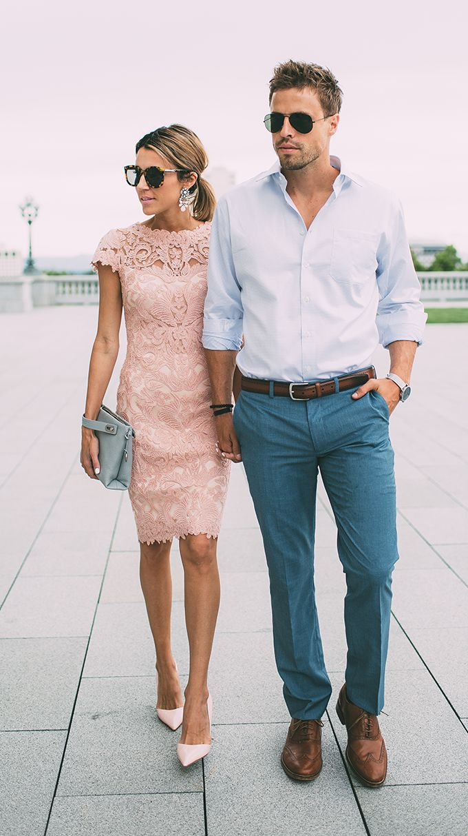 What Should Guys Wear To A Wedding Couple Outfits Guest Attire Summer Wedding Outfits