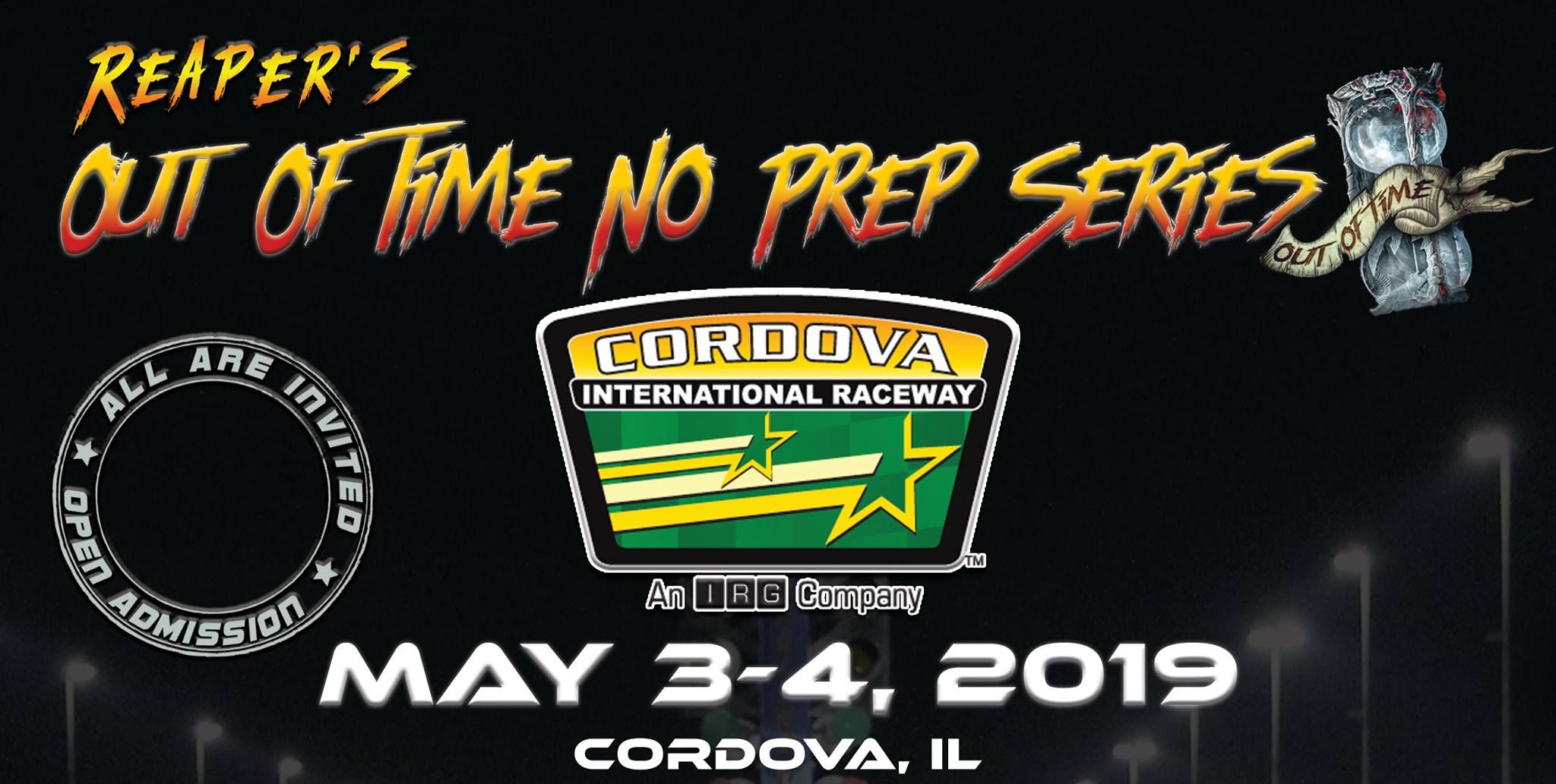 Join us at Cordova International Raceway for the Street