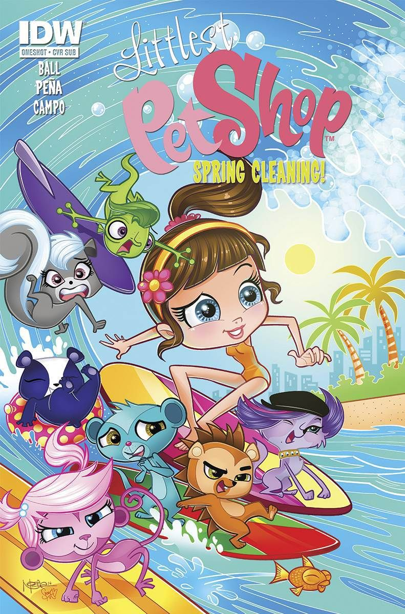 Littlest Pet Shop Spring Cleaning by