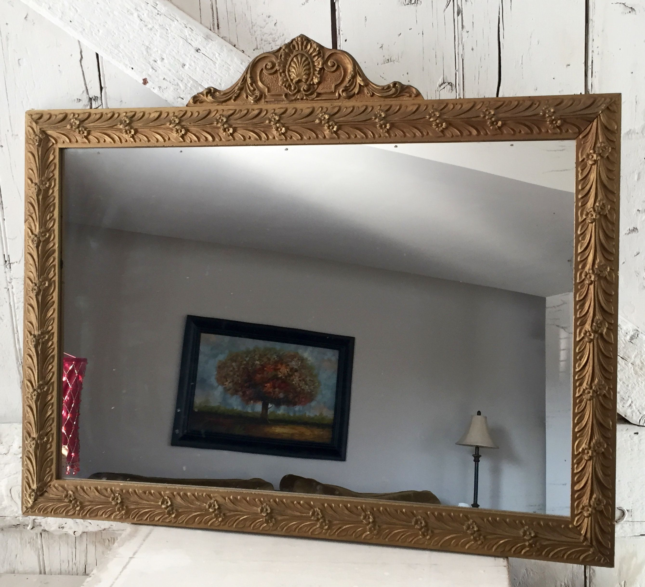 Mirror Gold Ornate Wooden Antique Gold Frame Mirror Carved Mirror Frame Diy Gold Framed Mirror Wooden Mirror Frame